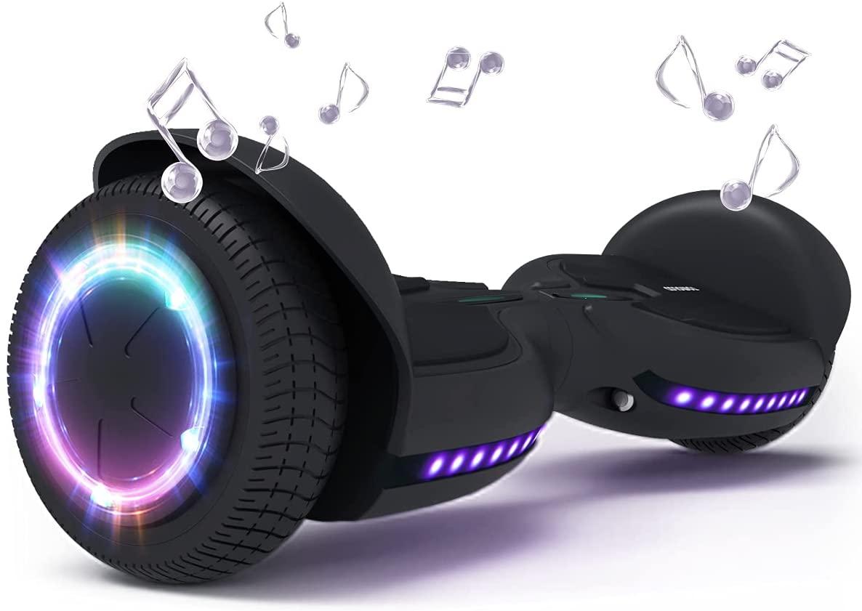 TOMOLOO Music-Rhythmed Hoverboard