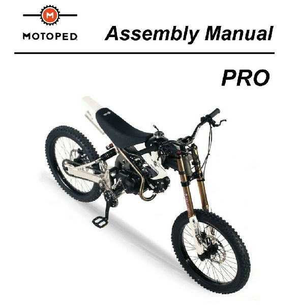 Motoped Assembly Manual
